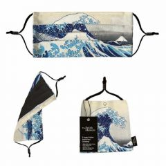 The Great Wave Face Covering