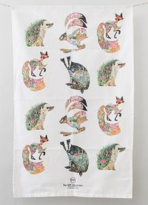 'Woodland' Tea Towel