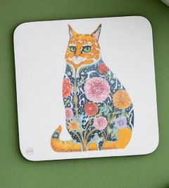 'Ginger Tom Cat' Coaster