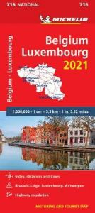 Belgium & Luxembourg 2021 - Michelin National Map 716: Maps