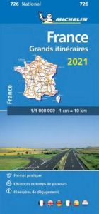 France Route Planning 2021 - Michelin National Map 726: Maps