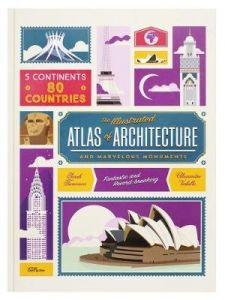 Atlas of Architecture and Marvellous Monuments by Alexandre Verhille