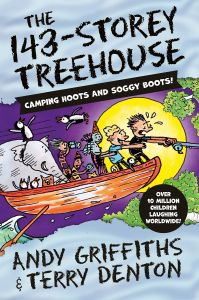 The 143-Storey Treehouse by Andy Griffiths - Signed Edition