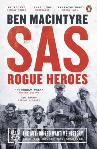 SAS Rogue Heroes by Ben MacIntyre - Signed Paperback Edition