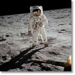 Apollo 11. A Man On The Moon - Signed by Buzz Aldrin