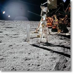 Apollo 11. Solar Wind Composition Experiment - Signed by Buzz Aldrin