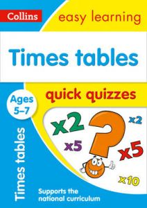 Times Tables Quick Quizzes Ages 5-7: Ideal for Home Learning (Collins Easy Learn by Collins Easy Learning