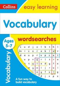 Vocabulary Word Searches Ages 5-7: Ideal for Home Learning (Collins Easy Learnin by Collins Easy Learning