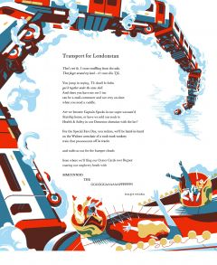 Transport for Londonstan (Poetry Broadside) by Daljit Nagra
