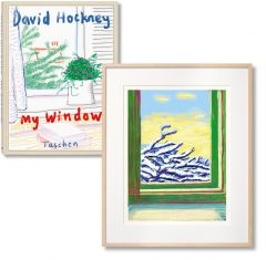 My Window - Art Edition No. 501–750 - 'No. 610' 23rd December 2010 by David Hockney - Signed Edition