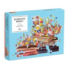 Blooming Books 750 Piece Shaped Puzzle by Galison