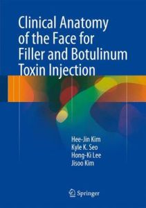 Clinical Anatomy of the Face for Filler and Botulinum Toxin Injection by Hee-Jin Kim (Hardback)
