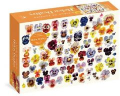 A Field of Pansies 1,000-Piece Puzzle by Helen Dealtry