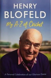 My A-Z of Cricket by Henry Blofeld - Signed Edition