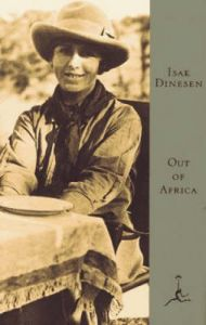 Out of Africa by Isak Dinesen (Hardback)