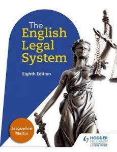 English Legal System Eighth Edition by Jacqueline Martin