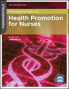 Fundamentals of Health Promotion for Nurses by Jane Wills