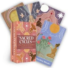 The Sacred Cycles Oracle: A 50-Card Deck and Guidebook by Jillian Pyle