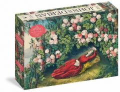 John Derian Paper Goods: The Bower of Roses 1,000-Piece Puzzle by John Derian
