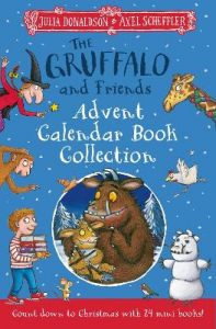 The Gruffalo and Friends Advent Calendar Book Collection by Julia Donaldson (Hardback)