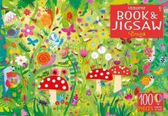 Usborne Book and Jigsaw Bugs by Kirsteen Robson
