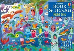 Night Time Jigsaw Puzzle Book by Kirsteen Robson