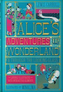 Alice's Adventures in Wonderland & Through the Looking-Glass by Lewis Carroll (Hardback)