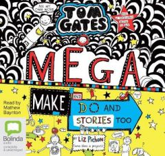 Mega Make and Do (and Stories Too!) by Liz Pichon (Audiobook)