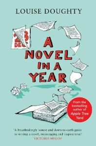 A Novel in a Year: A Novelist's Guide to Being a Novelist by Louise Doughty