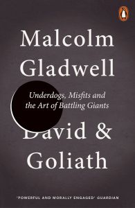 David & Goliath by Malcolm Gladwell - Signed Paperback Edition