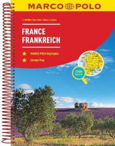 France Marco Polo Road Atlas by Marco Polo