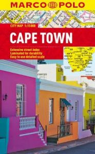 Cape Town Marco Polo City Map by Marco Polo
