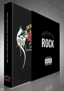 Monsters of Rock - Black Edition - Signed by Brian Johnson - Limited Edition