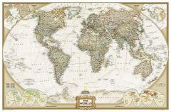 World Executive, Enlarged &, Tubed: Wall Maps World by National Geographic Maps