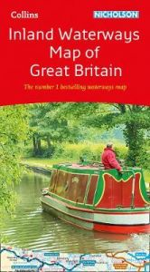Collins Nicholson Inland Waterways Map of Great Britain: For everyone with an interest in Britain's canals and rivers (Collins Nicholson Waterways Guides) by Nicholson Waterways Guides