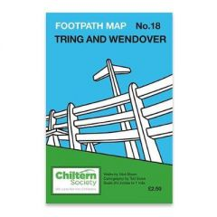 Map 18 Footpath Map No. 18 Tring and Wendover: Eighth Edition - No In Colour by Nick Moon