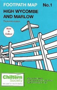 Map 1 Footpath Map No. 1 High Wycombe and Marlow: Thirteenth Edition - In Colour by Nick Moon