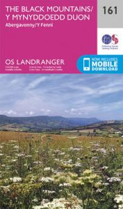 The Black Mountains by Ordnance Survey