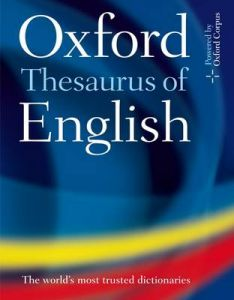 Oxford Thesaurus of English by Oxford Languages (Hardback)
