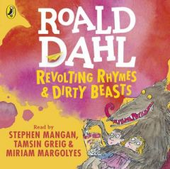 Revolting Rhymes and Dirty Beasts by Roald Dahl (Audiobook)