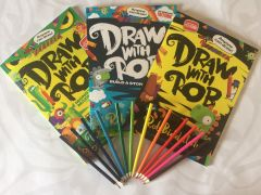 The Draw With Rob Three Book Bundle by Rob Biddulph - Signed Edition