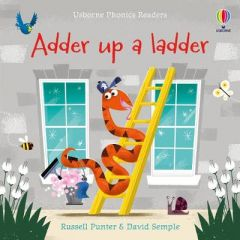 Adder up a Ladder by Russell Punter