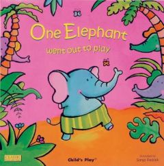 One Elephant Went Out to Play by Sanja Rescek