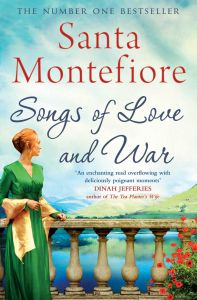Songs of Love and War by Santa Montefiore - Signed Paperback Edition