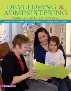 Developing and Administering a Child Care and Education Program by Shauna Adams (University of Cincinnati)