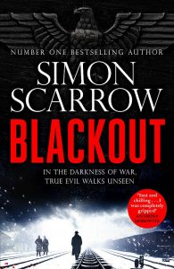 Blackout by Simon Scarrow - Signed Edition