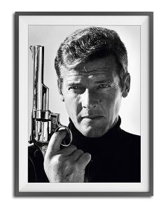 Sir Roger Moore by Terry O'Neill