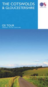 The Cotswolds & Gloucestershire by Ordnance Survey