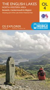 The English Lakes - North-Western Area, Keswick, Cockermouth & Wigton by Ordnance Survey