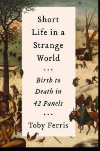 Short Life in a Strange World: Birth to Death in 42 Panels by Toby Ferris (Hardback)